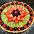 Рецепт Открытый фруктовый пирог