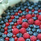 Рецепт Кешью чизкейк с миндалем и ягодами