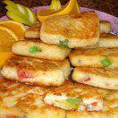 Рецепт Вкусные и простые сырники из творога на сковороде (с мармеладом)