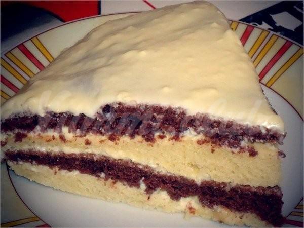 Рецепты простых тортов на кефире в домашних условиях с фото