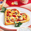 Рецепт Пицца ко Дню Святого Валентина