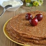 Рецепт Тонкие блины на сыворотке