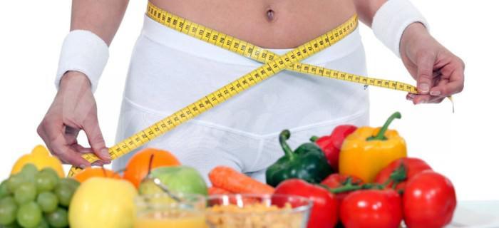 На фото Рацион, богатый клетчаткой, помогает сбросить вес