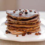 Рецепт Оладьи с бананами и грецкими орехами
