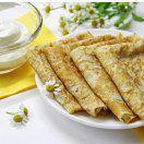 Рецепт Блины из кукурузной муки