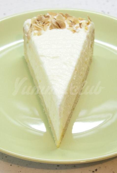 На фото Творожный пирог