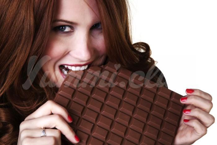 На фото Шоколад, который поможет сохранить молодость