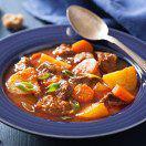 Рецепт Тушеная говядина с картофелем и морковью