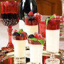 Рецепт Кофейная панна котта с ягодами