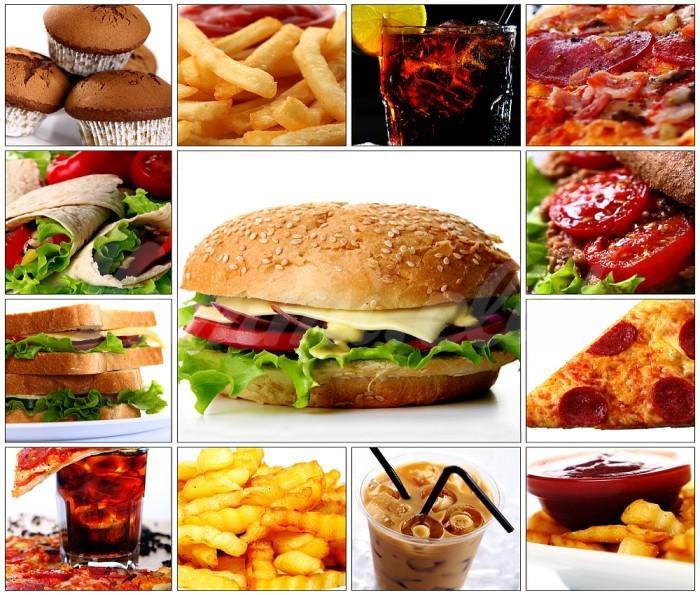 На фото Самые полезные из вредных продуктов