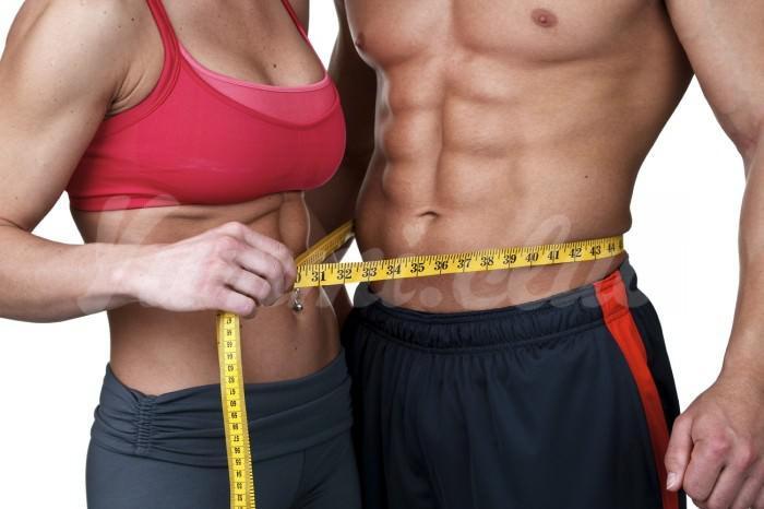 На фото Сложно выдержать диету? Худейте вместе со своей второй половиной