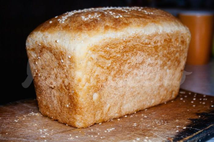 На фото Домашний хлеб