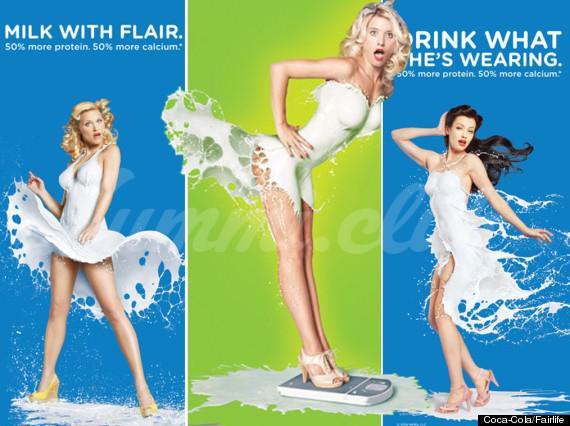 На фото Рекламу продукции Coca-Cola посчитали сексистской
