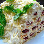 Рецепт Торт «Монастырская изба» (упрощенный вариант без выпечки)
