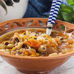 Рецепт Греческий суп из фасоли