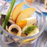 Рецепт Весенний салат из сельди