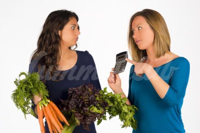 На фото Вегетарианский калькулятор: сколько животных ты НЕ съел