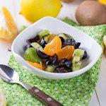 Рецепт Фруктовый салат с медовой заправкой