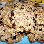 Рецепт Простейшее овсяное печенье