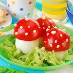 Рецепт Грибочки из яиц