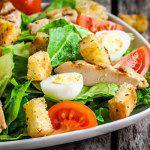 Рецепт Весенний салат с курицей