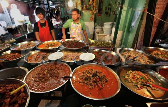 На фото Самая вкусная еда готовится в Юго-Восточной Азии