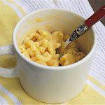 Рецепт Макароны с сыром в микроволновке