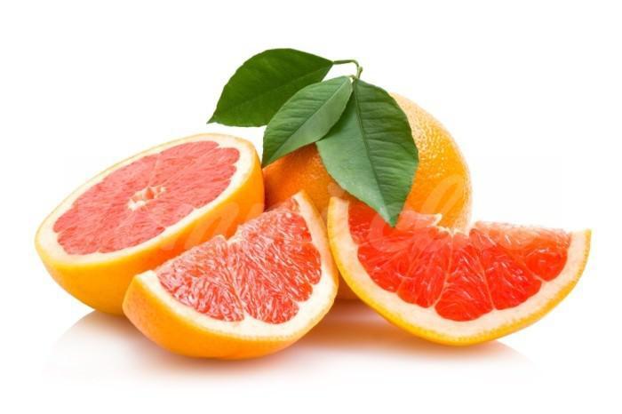 На фото Как едят грейпфрут?