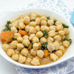 Рецепт Горох нут с морковью