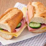 Рецепт Сэндвичи с ветчиной и сыром
