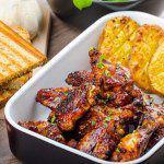 Рецепт Куриные крылышки в имбирно-медовом маринаде