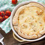 Рецепт Пирог из слоеного теста с цветной капустой