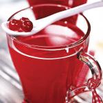 Рецепт Морс из замороженных ягод клюквы