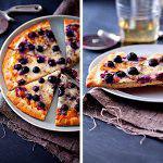 Рецепт Черничная сладкая пицца