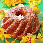 Рецепт Пасхальный кекс с апельсином