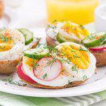 Рецепт Бутеброды с редисом и яйцом