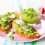 Рецепт Мусс из зеленого горошка