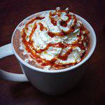 Рецепт Карамельный горячий шоколад