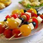 Рецепт Овощная закуска на шпажках