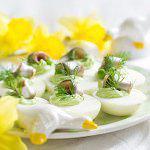 Рецепт Фаршированные яйца с авокадо