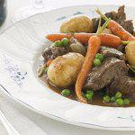 Рецепт Жаркое из баранины с весенними овощами