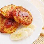 Рецепт Бананово-яблочные оладьи