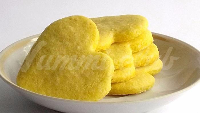 На фото Печенье из кукурузной муки