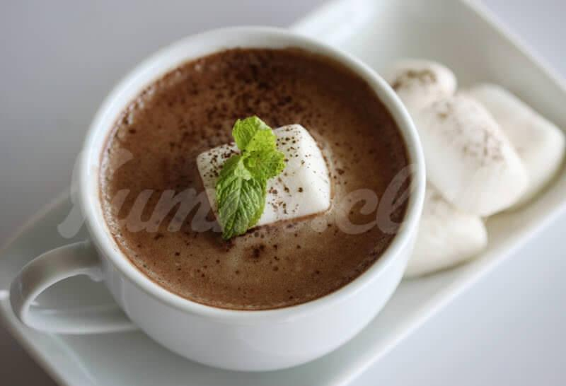 Мятный горячий шоколад ~ Домашние рецепты