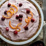 Рецепт Клюквенный торт без выпечки