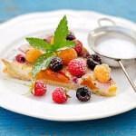 Рецепт Летний пирог с ягодами и сметаной