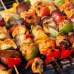 Рецепт Куриный шашлык с овощами