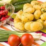 Рецепт Молодая картошка с укропом