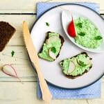 Рецепт Творожная намазка с зеленью