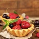 Рецепт Корзиночки с клубникой
